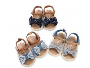 Dětské capáčky, sandále pro děvčata- více barev