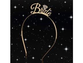 Svatba- Čelenka Bride pro nevěstu na rozlučku