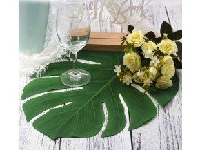 Umělé listy vhodné jako dekorace na svatbu, párty- 12ks/set