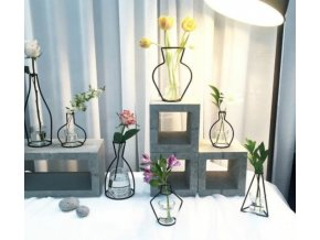 Nerezový obrys vázy- více variant