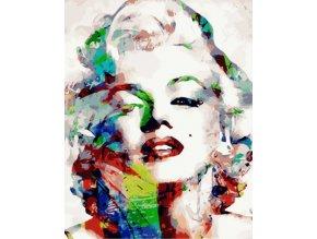 Malování podle čísel na plátno pro dospělé - Marilyn Monroe