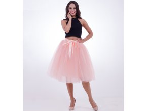 Dámská tutu tylová sukně na svatbu, ples- více barev
