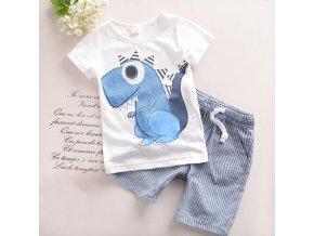 Dětské oblečení- set šortky a tričko pro chlapce Dinosaurus