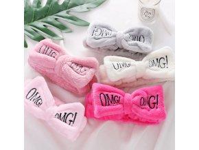 Pro ženy- kosmetická čelenka OMG- více barev
