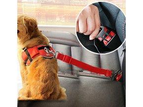 Bezpečností postroj do auta pro psa- více barev