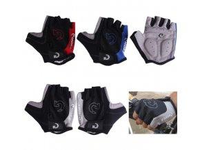 Cyklistické rukavice- ve třech barvách