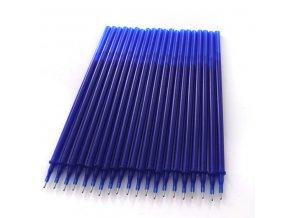 Školní penál- 20ks náplň pro gumovatelné pero s modrým inkoustem 0.5mm