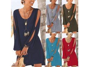 Dámské letní plážové pohodlné šaty až 2XL více barev