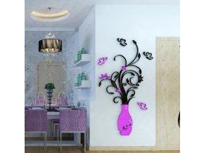 Luxusní dekorativní VÁZA na zeď - různé barvy