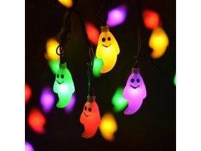 Podzimní dekorace- LED světelné Halloween dekorace Duchové- ve třech barvách