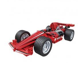 Hračky- Stavebnice, model formule červená- vlastní sestavení 180 ks