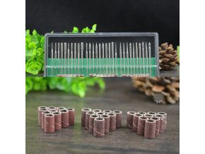 Kosmetika nehty modeláž nehtů nehtová modeláž gelové nehty akrylové nehty - nástavce na brusku - 30 kusů + 10 kusů