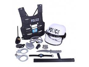 Hračky pro kluky - sada pro malého policistu