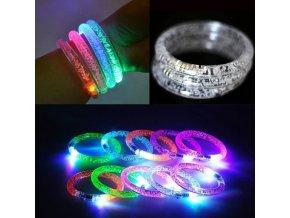 LED svítící náramky vhodné na párty