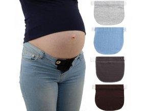 Nástavec elastický na džíny kalhoty pro těhotné