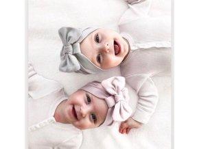 Dárky pro děti čepice - čepička s mašlí
