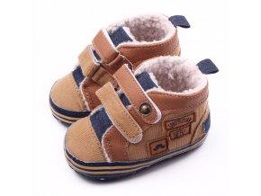 Pro děti dětské oblečení dětské boty dětské botičky první botičky dětské zimní boty - dětské protiskluzové botičky