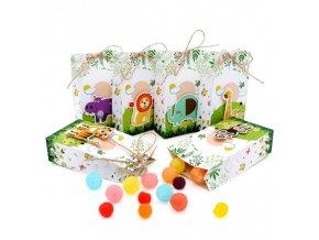 Tipy na dárky narozeniny oslava narozenin - sáčky na sladkosti 12 kusů