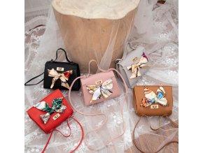 Elegantní dámská kabelka se šátkem- více barev