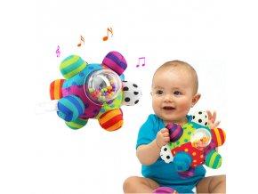 Dárky pro děti hračky pro děti interaktivní hračky plyšové hračky hračky pro nejmenší - interaktivní koule
