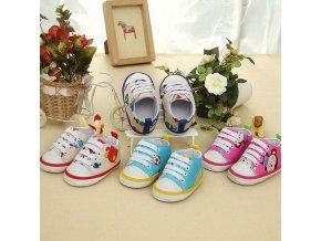 Pro děti dětské oblečení dětské boty dětské botičky první botičky - dětské barevné tenisky