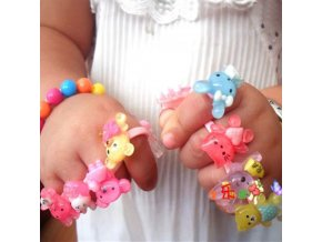 Dárky pro děti hračky pro děti - prstýnky pro děti set 5 kusů
