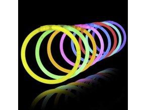 LED pásky mix barev silvestr 2019 - party led tyčinky 100 kusů