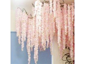 Dekorace zahradní dekorace umělé květiny levné umělé květiny jako živé - květinové girlandy