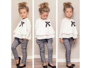 Oblečení pro děti levné dětské oblečení dětské oblečení dívčí oblečení - dívčí podzimní set vhodný pro formální události