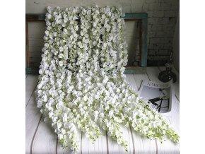 Dekorace- umělé květiny vhodné na svatbu, oslavy, zahradu 120 cm- 4 barvy