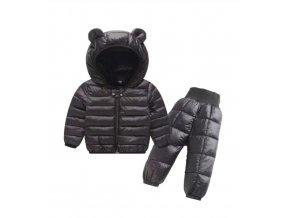 Dětský zimní set souprava- bunda, kalhoty Černá