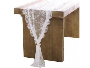 Dekorace- krajka vhodná jako běhoun, dekorace na svatbu, párty- 2 velikosti