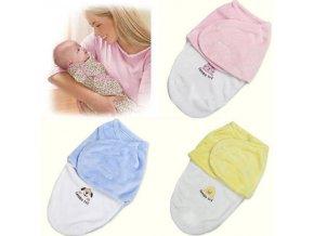 Pro děti- dětský spací pytel, zavinovačka- 3 barvy