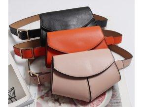 Dámská ledvinka kabelka na pásek do pasu- 3 barvy