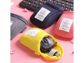 Cestovní obal kryt na počítačovou myš- více barev