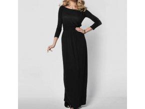 Pro ženy dámské oblečení dámské šaty maxi šaty - stylové podzimní maxi šaty