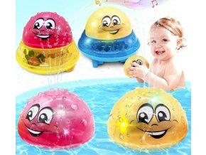 Pro děti- hračka do vody- svítící, hrající a stříkající vodu