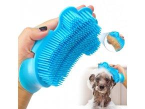 Potřeby pro psy - kartáč pro psy pro masáž a pro vlhké i suché česání