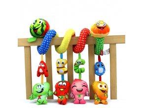 Dárky pro děti tipy na dárky best dárky vánoční dárky dárky k vánocům pro děti hračky pro děti dětské hračky plyšové hračky hračky pro nejmenší - závěs do dětské postýlky