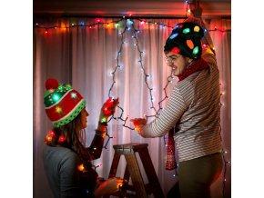 Tipy na dárky dárky k vánocům vánoční dárky best dárky čepice zimní čepice - svítící vánoční čepice