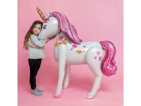 Dárky pro děti hračky pro děti best dárky nafukovací balonky - mega nafukovací jednorožec