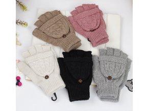Pro ženy- Teplé zimní dámské rukavice více barev- Tip na dárek