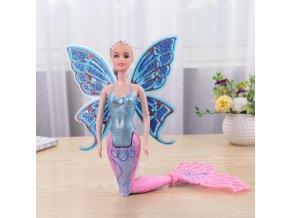 Hračky pro děti- Panenka mořská panna s křídly- Tip na dárek k Vánocům