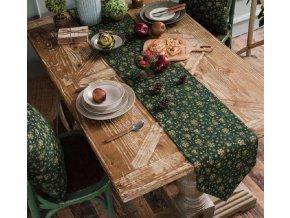 Dekorace- Krásný Vánoční ubrus, běhoun na stůl 3 barvy, 30x140cm