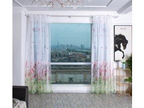 Záclony- luxusní levné hotové záclony 1x2cm viac farieb- Kuchyně, Obývací pokoj