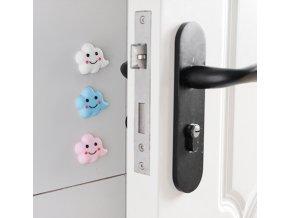 Samolepící gumové zarážky na dveře Mráček- Dětský pokoj