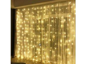 Vánoční dekorace - LED světelný řetěz, svatební dekorace- tři rozměry