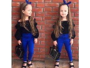 Dětské oblečení- Krásný letní set pro dívky kalhoty a tričko