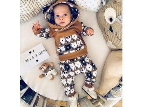 Dětské oblečení - Krásný dětský set, mikina, tepláky NEW