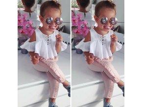 Dětský stylový letní set pro dívky AKCE